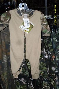 Infant Toddler Realtree APG Camo Khaki 1 PC Creeper Unionsuit Baby Camo