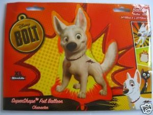 Disney Bolt Supershape Foil Helium Balloon BLT HF