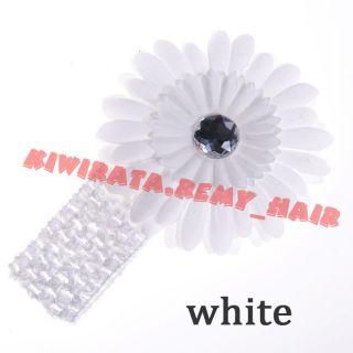 New Baby Boy Girl Kid Newborn Toddler Headband Hair Bow Flower Clip Cute Gift CC
