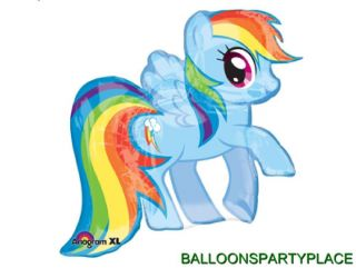 My Little Pony Rainbow Dash Balloon Party Supplies Decoration Birthday Baby New