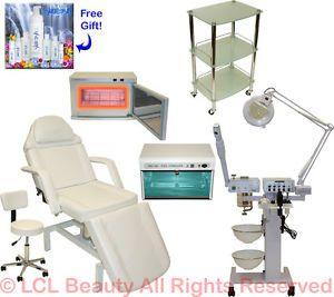 9 in 1 Facial Machine Hydraulic Massage Chair Warmer Sterilizer Salon Equipment