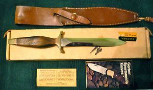 Gerber MKII Fighting Knife Presidential Model