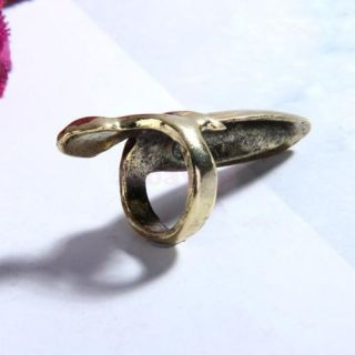 False Nail Finger Ring Lady Masque Party Jewelry Xmas Birthday Gift