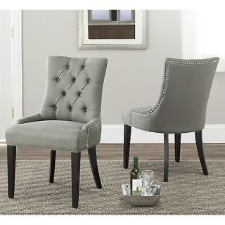 Set of 2 Living Room Chairs Dining Chair Table Size Seating Side Stools 6 Bar CR