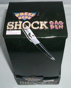 Electric Shock Pen or Laser Gun Adult Shocking Gag Frank Joke April Fool Gift