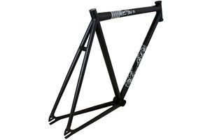 Volume Cutter V1 Track Fixed Gear Bike Frame Flat Black 50cm
