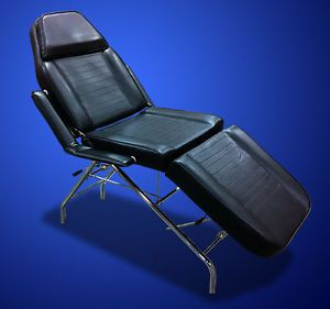New Mtn All Purpose Multi Position Salon Spa Beauty Recline Barber Chair Black