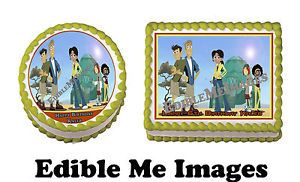 Wild Kratts Birthday Party Cake Topper Cupcake Decoration Edible Image