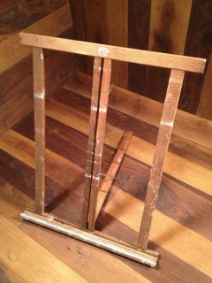 Vintage Anco Bilt Adjustable Collapsible Wood Easel