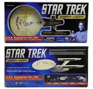 2013 Art Asylum Diamond Select Star Trek USS Enterprise NCC 1701 Refit Mintpkg