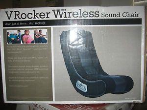 ... Rocker V Rocker Wireless Game Chair Video TV Gaming PlayStation Xbox  Nintendo ...
