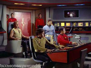 Star Trek USS Enterprise AMT Model Bridge Transparent Prop Excellent
