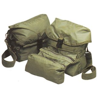 Medical Military First Aid Kit EMT EMS Bag Olive Drab on