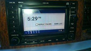 Dodge Chrysler Jeep Rec Head Unit Navigation GPS 6 Disc  Sirius