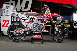 Honda CRF 450 2013 Chad Reed Two Two Graphics Supermoto Motocross