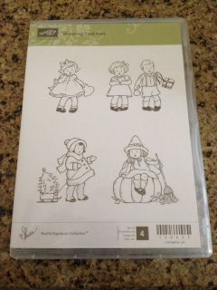 Stampin' Up Retired Greeting Card Kids