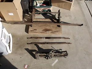 RARE Ewers Saw Filing Machine Hand Saw Crosscut 48 inches Invention Mothman