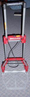 Milwaukee Folding Hand Cart Hand Truck Material Mover Milwaukee Tools