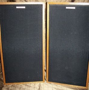 Vintage Klipsch Forte II Floorstanding Speakers Sequential Serial Numbers