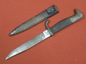 German Germany Solingen WW1 WWI Boot Fighting Knife w Scabbard