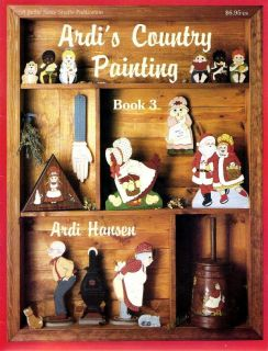Tole Painting Pattern Book Ardi's Country Painting Book 3 Ardi Hansen