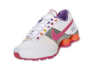 Nike Shox Deliver Kids  Running Shoe White Vivid Pink Orange 4 5YUS UK4 36  5EUR 10f6b6d16