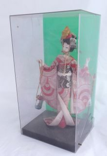 Vintage Japanese Oriental Costume Doll in Kimono Made in Japan 6 inch Tall