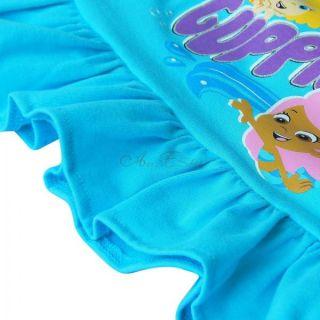 Bubble Guppies Girl Baby 2pcs Outfit Top Dress T Shirt Polka Dots Short Pants 2T