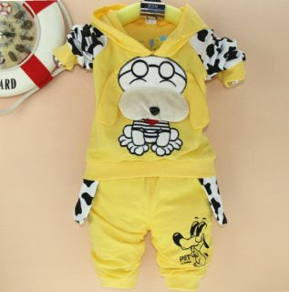 Sport Suits Clothing Baby Girl Boy Children's Kids' Clothes for 2 4 Years