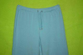 Croft Barrow Sz s Womens Aqua Blue Casual Pants Slacks Trousers Stretch 4J34