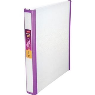 1 Better Non View Binder With D Rings White Glitter