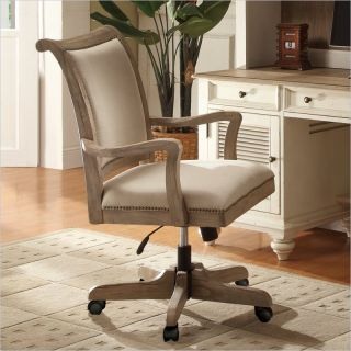 Riverside Furniture Coventry Desk Chair in Weathered Driftwood   32438
