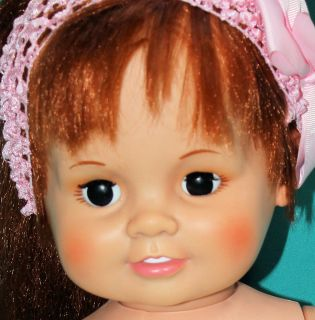 Vintage Ideal Growing Hair Baby Crissy Doll