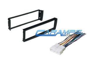 96 98 Civic Car Stereo Radio Dash Installation Mounting Kit with Wiring Harness