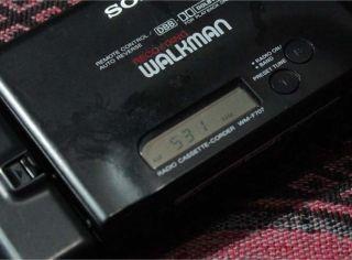 Sony Walkman Auto Reverse Radio Cassette Corder Player Wm F707 Lot B