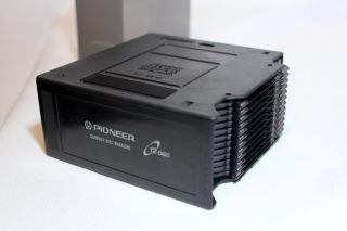 Pioneer Vtg 12 Disc CD Changer Player Magazine Cartridge in Box Car Home