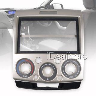 Light Gold Car DVD Stereo Player GPS Panel Plate Frame for Mazda BT 50