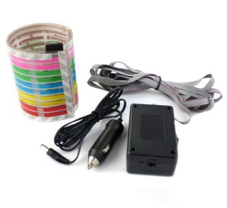 Car Sticker Music Rhythm LED Flash Light Lamp Sound Activated Equalizer Sell Wel