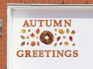 Autumn Greetings Harvest Garage Door Magnet Set Home Decor New I5477