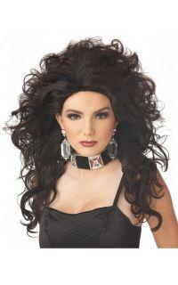 Hot Sexy Cover Model Halloween Costume Wig Dark Brown 70416