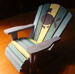 Decorative Beach Chair Fish Tropical Nautical Decor New