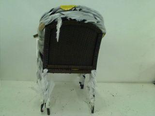 New Hampton Bay Wicker Patio Stack Chair 4 Pack