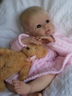 Hushabye Mountain Reborn Baby Girl Misha Cradle Kit by Linda Murray Now Sold Out