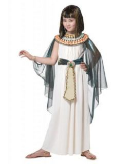 Egyptian Princess Child Preteen Tween Cute Girls Cleopatra Halloween Costume