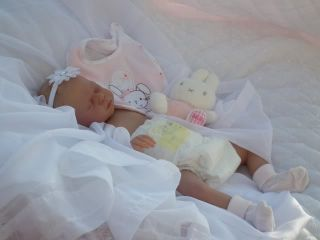 Baby Sunshine Nursery Reborn Girl Doll Paige by Sandra White Limited Edition