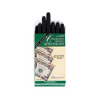Drimark Counterfeit Bill Detector Pen 12ct Smart Money Counterfeit Bill Detector