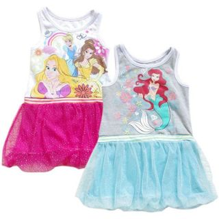 Girl Kid Princess Summer Top Dress Sz 2 7Y Baby Party Tutu Skirt Costume Outfit