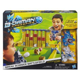 B Daman Crossfire Break Bomber Battlefield Set