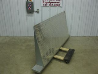 "60"" Walk in Cooler Freezer Combo w Floor Aluminum Diamond Plate Ramp"