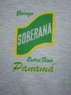 Soberana Cerveza Extra Fina Panama Beer Casual T Shirt XXL
